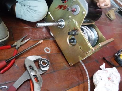 ポータブルウインチ修理 (14)