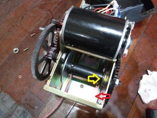 ポータブルウインチ修理 (19)