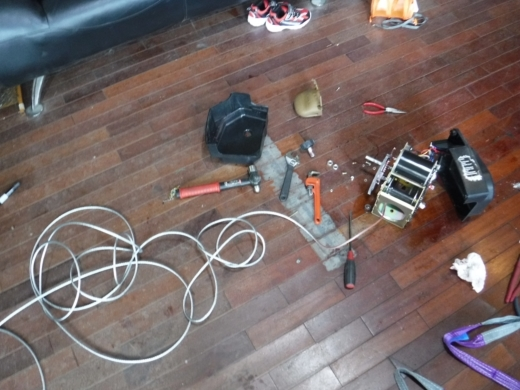 ポータブルウインチ修理 (25)