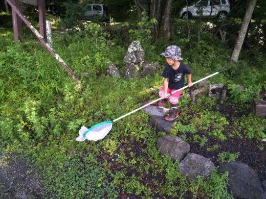 中禅寺湖のおかっぱり釣り (4)