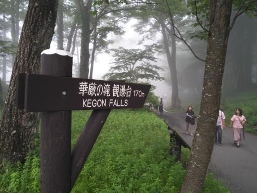 華厳の滝へ (9)