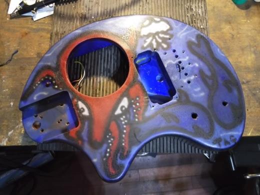 ぞうさんギター完成 (6)
