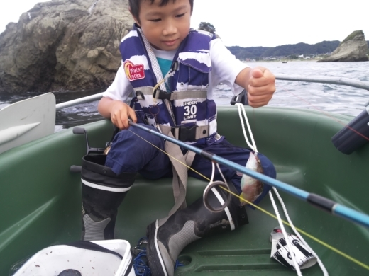 冨浦漁港で釣り (31)