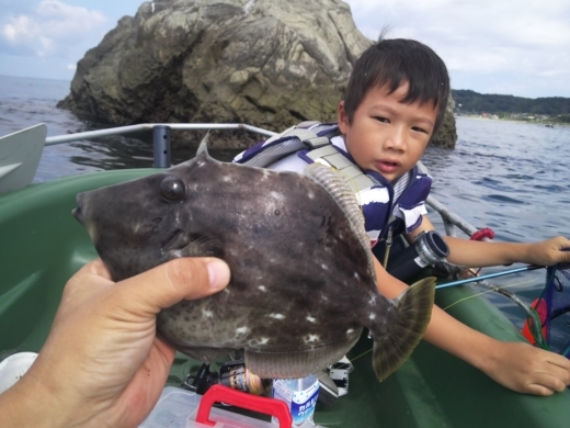 冨浦漁港で釣り (37)