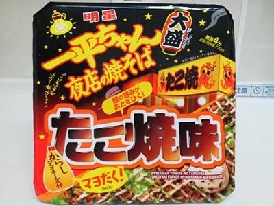 一平ちゃん夜店の焼そば たこ焼味_01