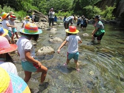2017キャンプ川5