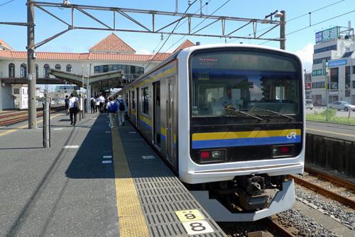 内房線館山駅