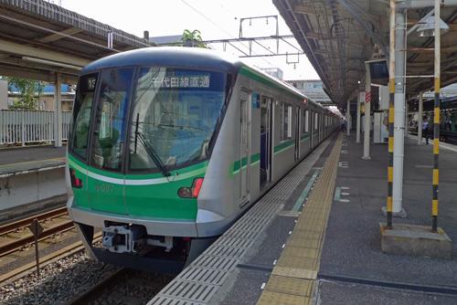 千代田線16000系@我孫子駅