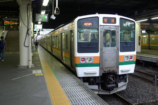 JR両毛線(高崎駅)