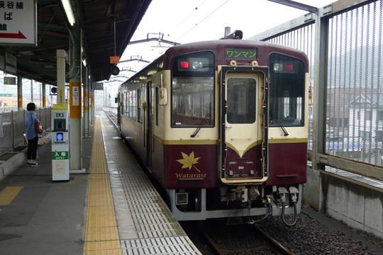 わたらせ渓谷鐡道@桐生駅
