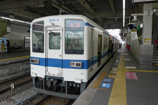 伊勢崎線@館林駅