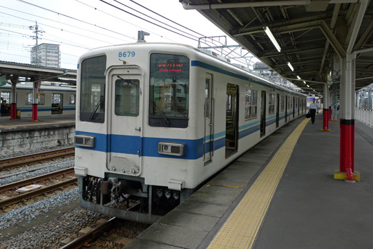 東武小泉線@館林駅