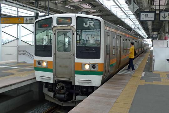 JR両毛線伊勢崎駅