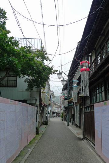 下仁田の町中