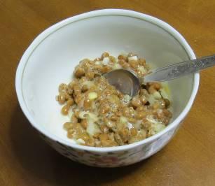 ネギ7月納豆薬味