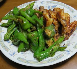 オーガニック夏野菜を使った男料理1