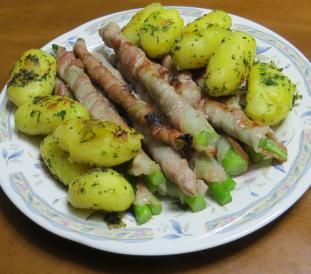 オーガニック野菜を使った旬野菜料理2