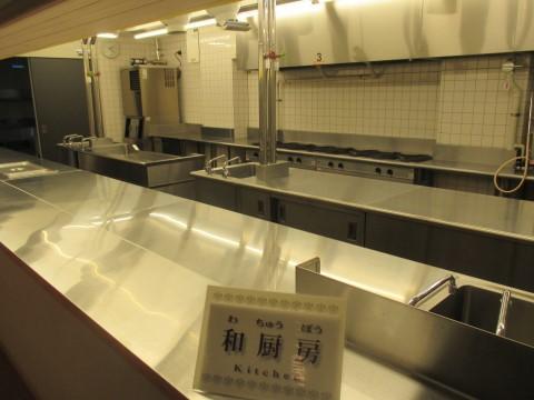 和厨房  (賓客はここは見れない)