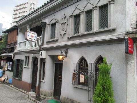 「フランソア喫茶室」は京都河原町にて昭和 9年から続く喫茶です。