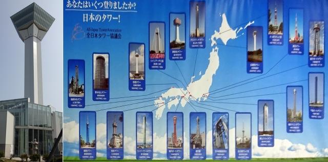 42五稜郭タワーと日本のタワー