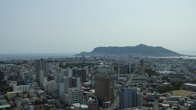 43タワーからの函館と函館山