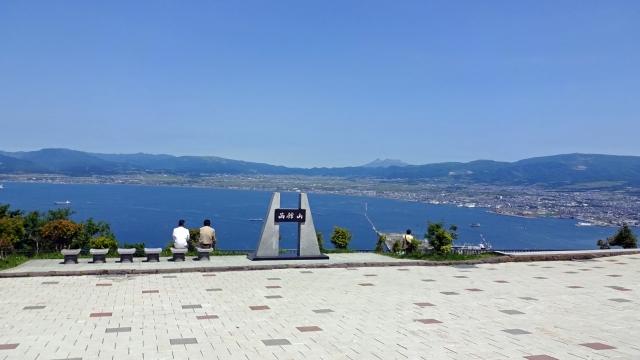 71函館山から駒ヶ岳方面