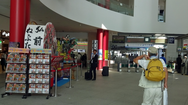80函館駅構内