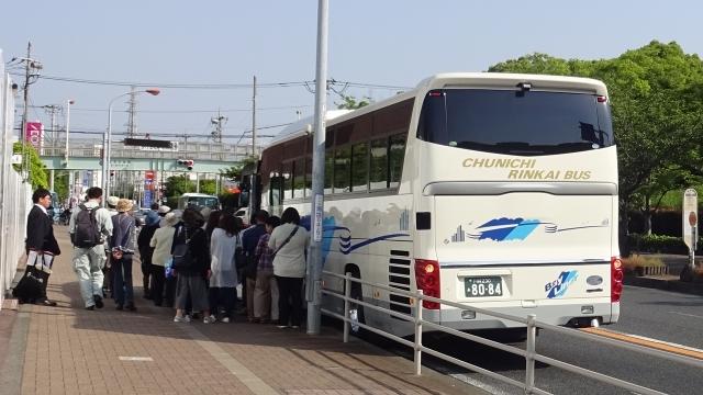 4茅ヶ崎市民文化センター前を出発