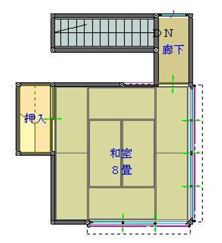 中村雅年邸 2F 永昌町16-3