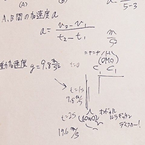 オンドゥル物理学①