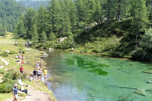 STK 1345 - 北イタリアの秘境・魔女の湖(Lago delle Streghe)