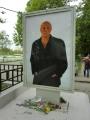 劇場前のベリャコーヴィッチ氏の肖像