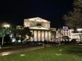 ボリショイ劇場の夜景
