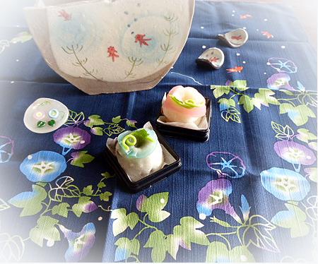 季節の 和菓子