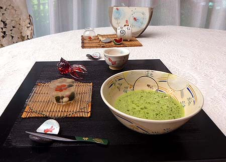 金魚・お抹茶1