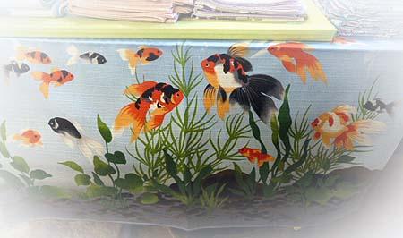 金魚風呂敷