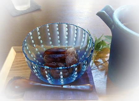 コ-ヒ-豆の氷