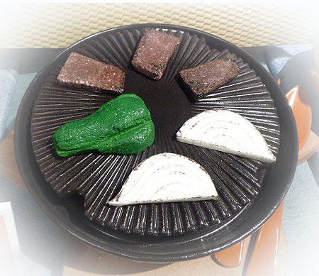 陶製ジンギスカン鍋