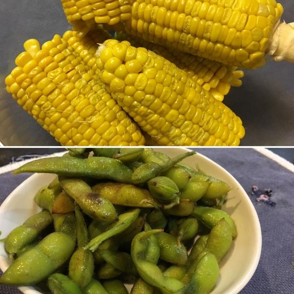 170923-トウモロコシと枝豆