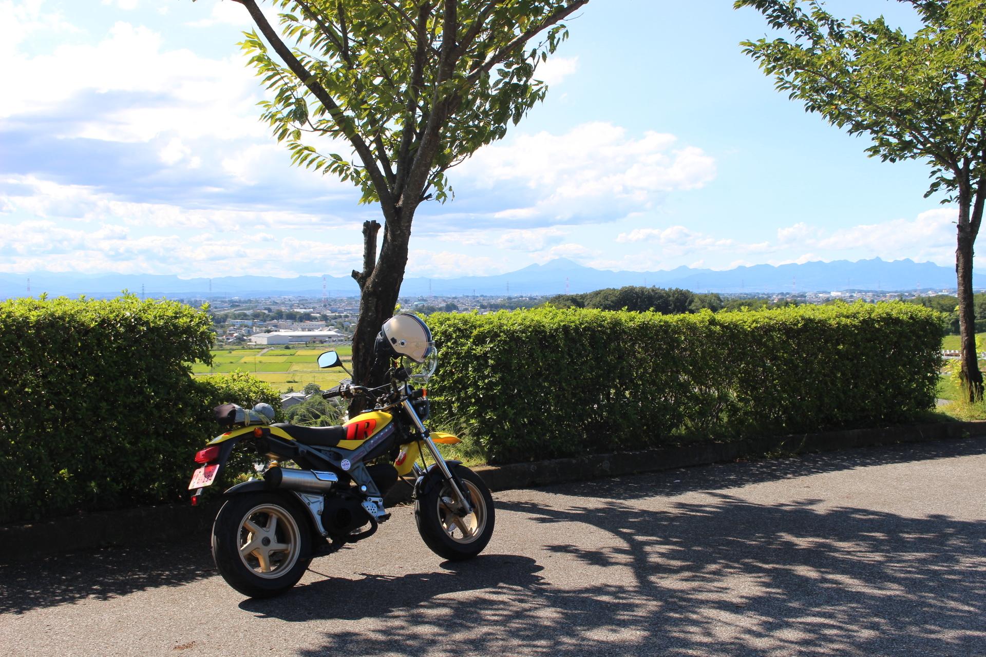八王子山とストマジ遠景