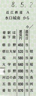 水口城南→愛知川 準片