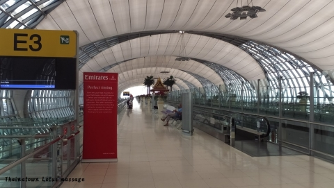 Airport Rail Link→Suvarnabhumi International Airport
