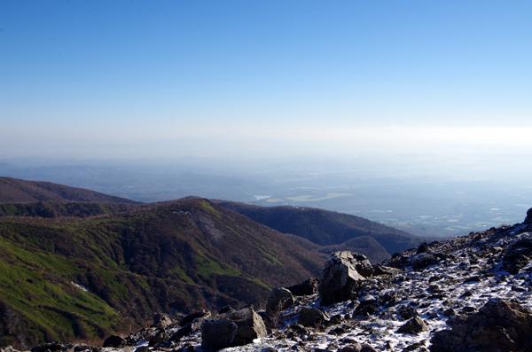 茶臼岳と南月山15