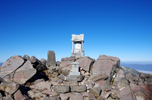 茶臼岳と南月山19