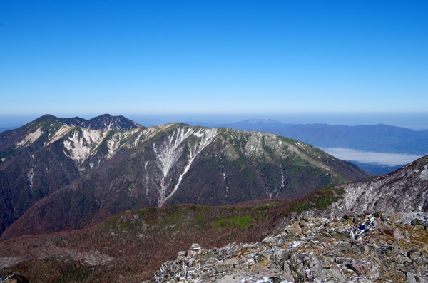 茶臼岳と南月山22