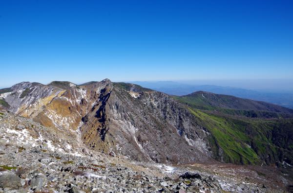 茶臼岳と南月山25