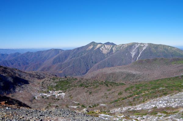 茶臼岳と南月山32