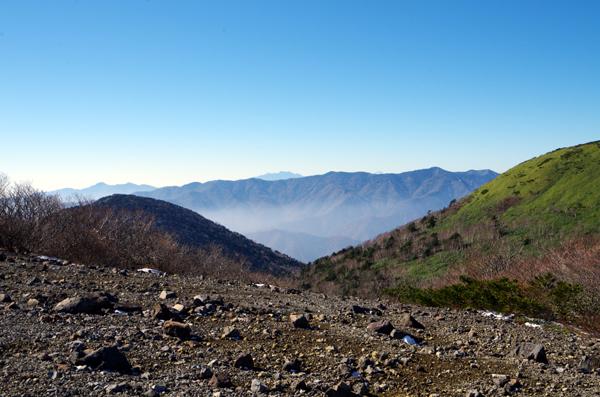 茶臼岳と南月山36
