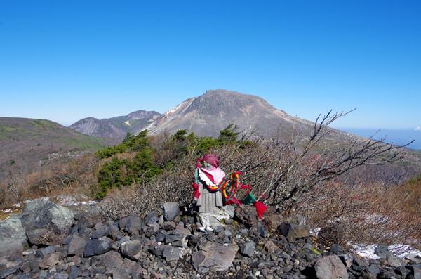 茶臼岳と南月山40