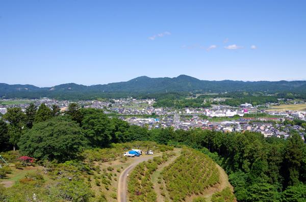 富士山と佐白山19